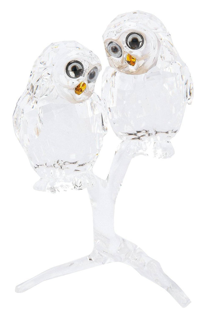 Swarovski Feathered Beauties Owl Couple, 5493722