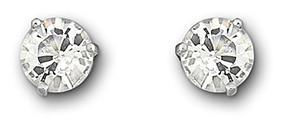 SWAROVSKI SOLITAIRE PIERCED EARRINGS - Duty Free Crystal