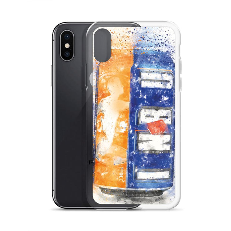 Woolly Mammoth Media Brew can Art iPhone Case