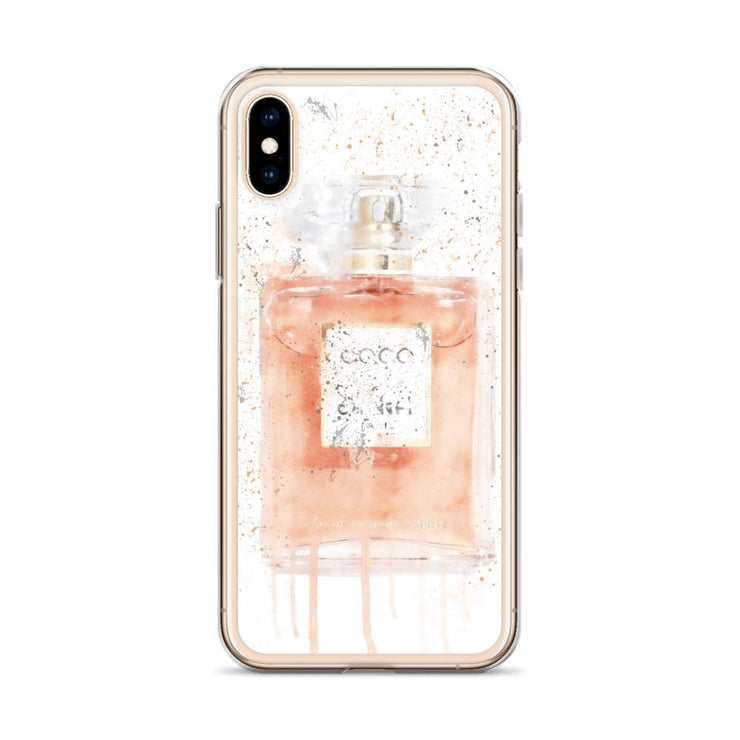Woolly Mammoth Media Coral Perfume Bottle iPhone Case
