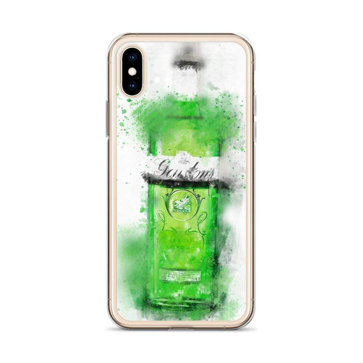 Woolly Mammoth Media Green Gordons Gin iPhone Case