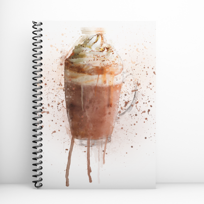 Woolly Mammoth Media Hot Chocolate Art Notebook