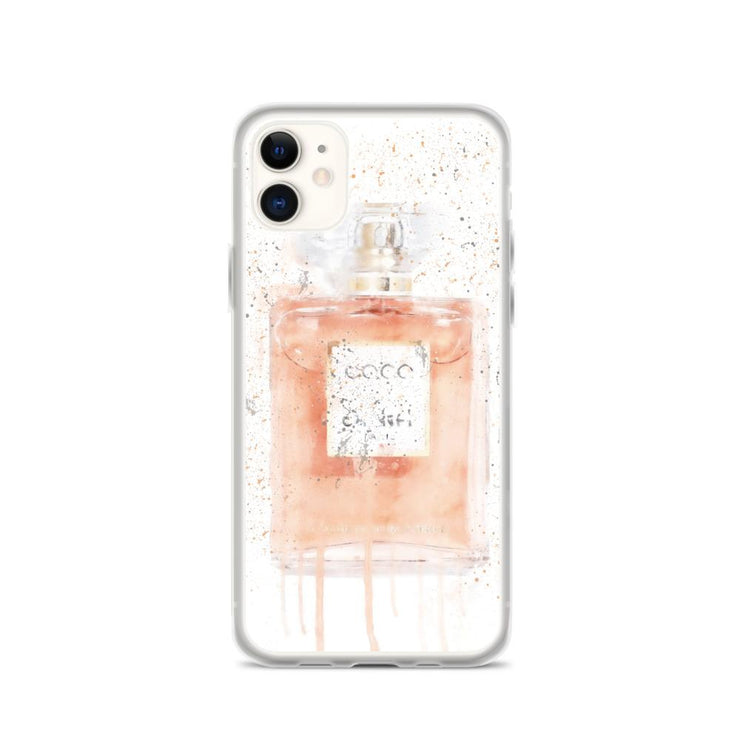 Woolly Mammoth Media iPhone 11 Coral Perfume Bottle iPhone Case