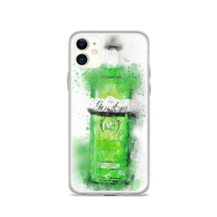 Woolly Mammoth Media iPhone 11 Green Gordons Gin iPhone Case