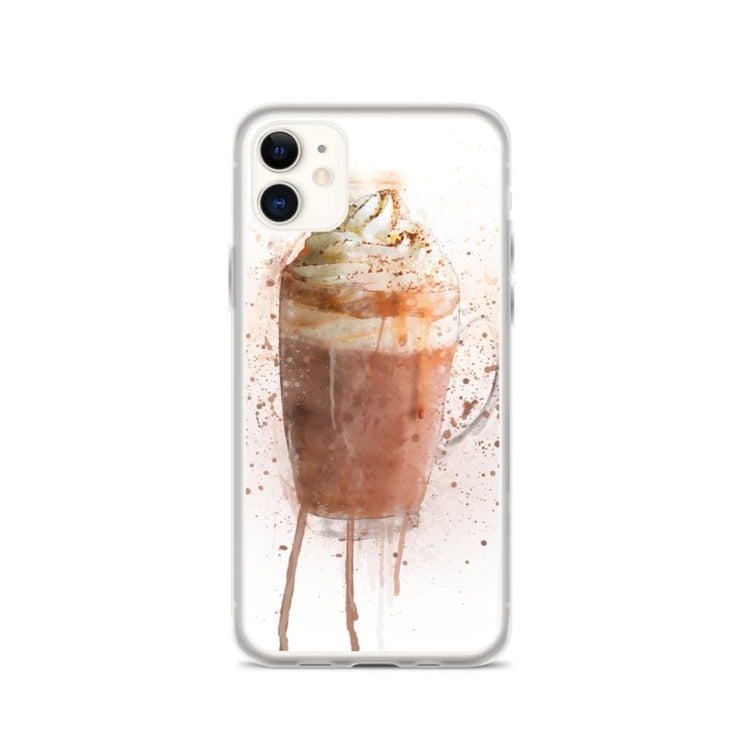 Woolly Mammoth Media iPhone 11 Hot Chocolate iPhone Case Cover