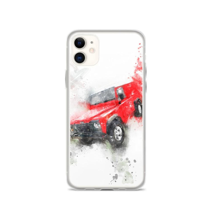 Woolly Mammoth Media iPhone 11 Land Rover Defender iPhone Case Cover