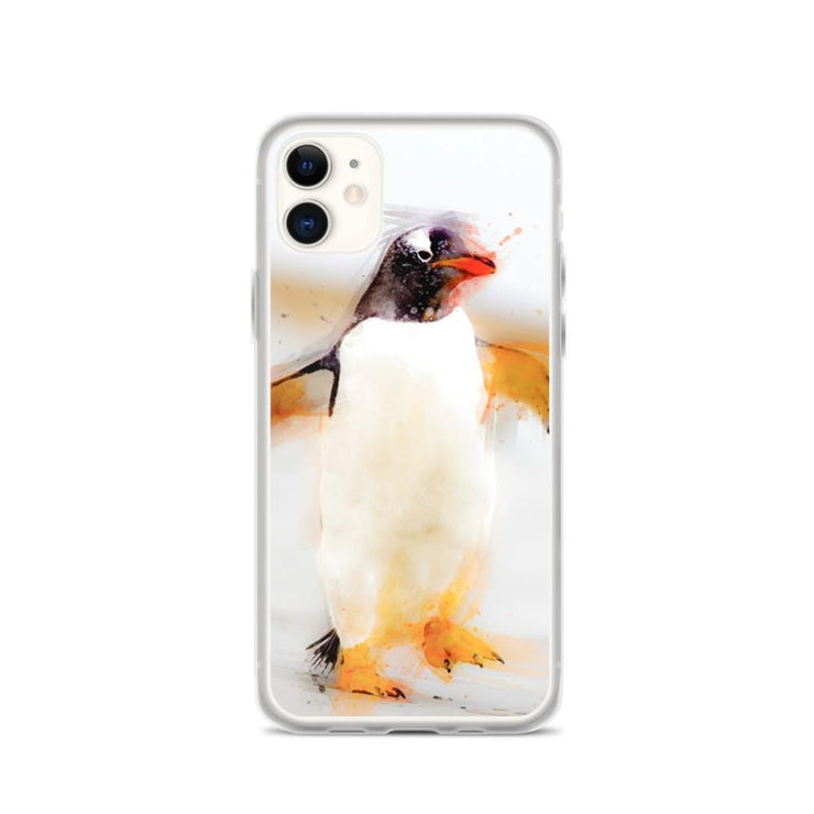 Woolly Mammoth Media iPhone 11 Penguin Waddles iPhone Case