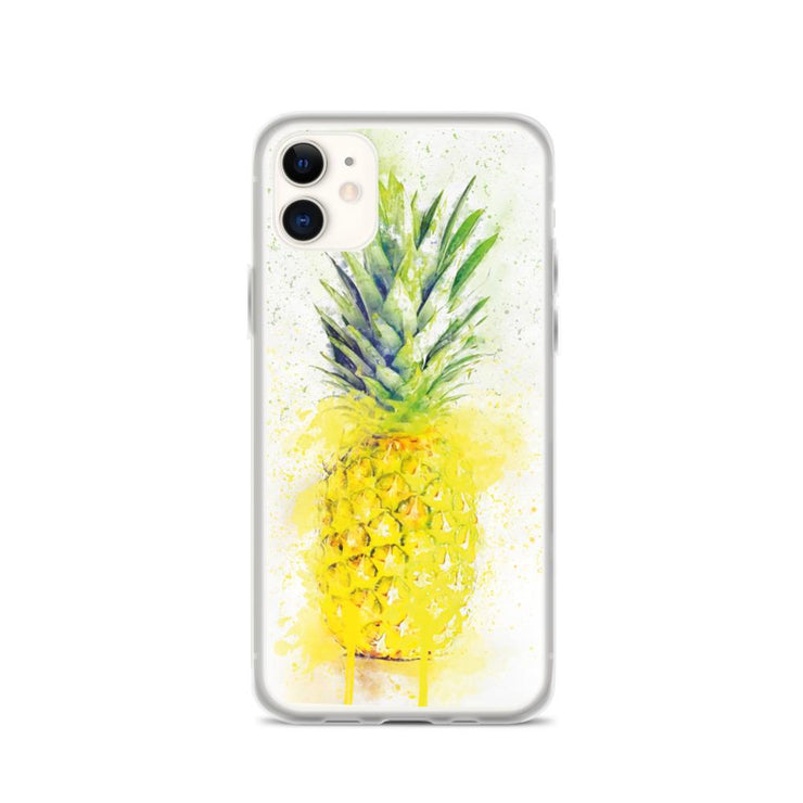 Woolly Mammoth Media iPhone 11 Pineapple Fruit iPhone Case