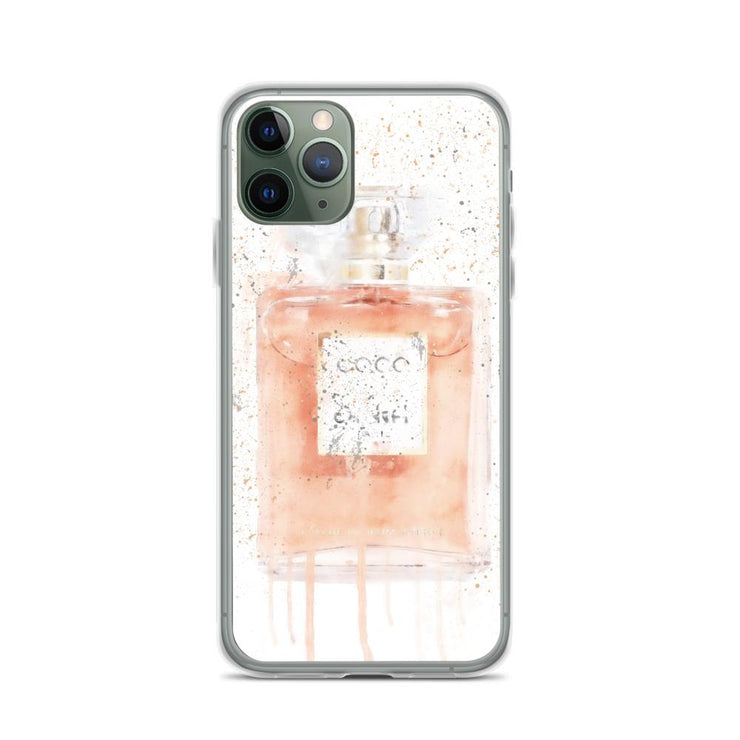Woolly Mammoth Media iPhone 11 Pro Coral Perfume Bottle iPhone Case