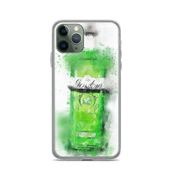 Woolly Mammoth Media iPhone 11 Pro Green Gordons Gin iPhone Case