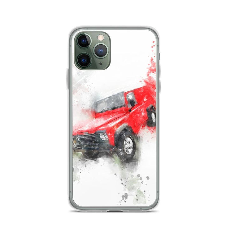 Woolly Mammoth Media iPhone 11 Pro Land Rover Defender iPhone Case Cover