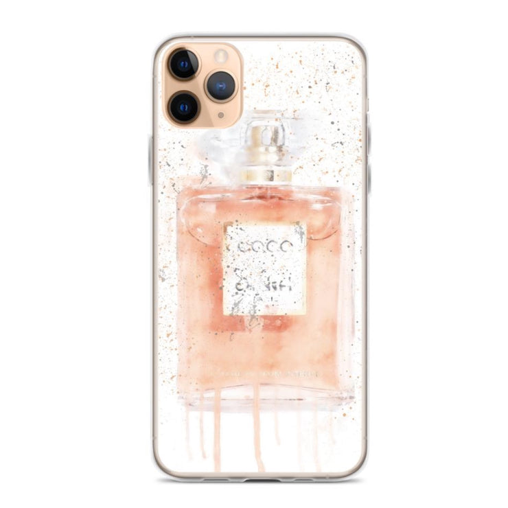 Woolly Mammoth Media iPhone 11 Pro Max Coral Perfume Bottle iPhone Case