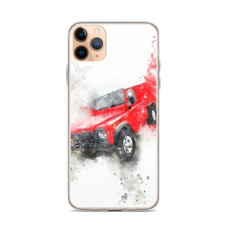 Woolly Mammoth Media iPhone 11 Pro Max Land Rover Defender iPhone Case Cover