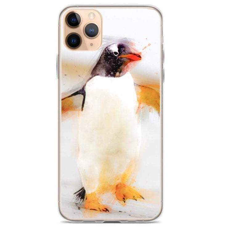 Woolly Mammoth Media iPhone 11 Pro Max Penguin Waddles iPhone Case