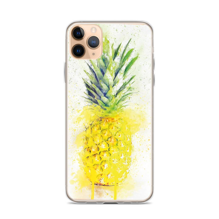 Woolly Mammoth Media iPhone 11 Pro Max Pineapple Fruit iPhone Case
