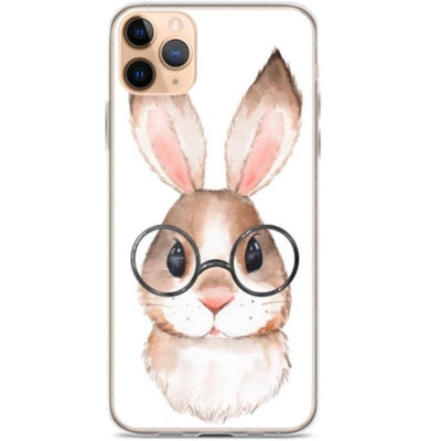 Woolly Mammoth Media iPhone 11 Pro Max Rabbit Bunny iPhone Case Cover