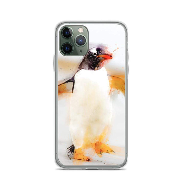 Woolly Mammoth Media iPhone 11 Pro Penguin Waddles iPhone Case