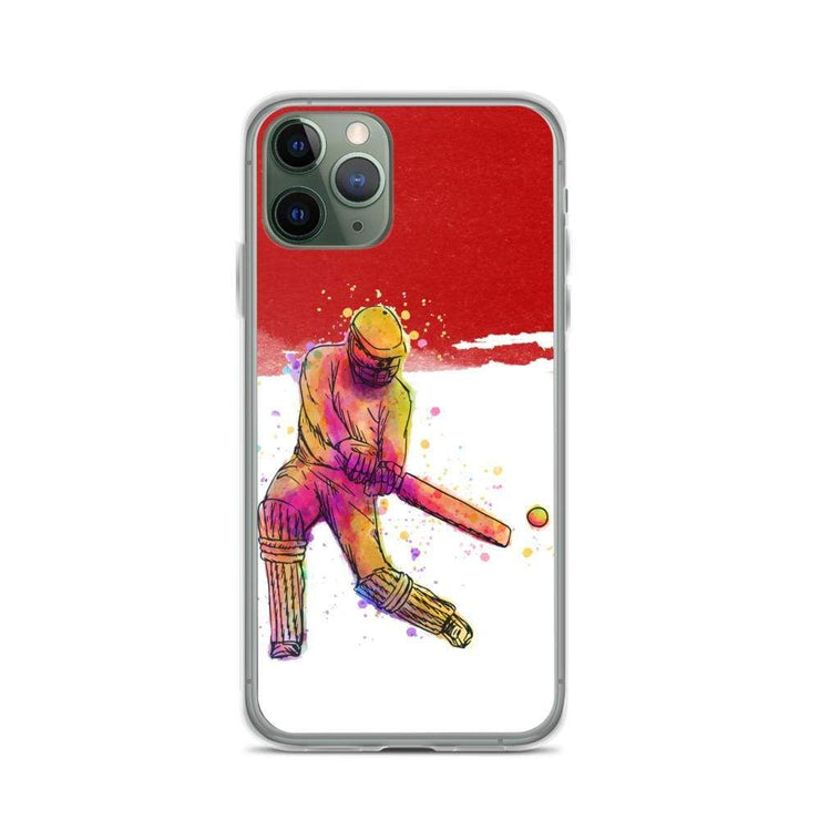 Woolly Mammoth Media iPhone 11 Pro Red Cricket iPhone Case Cover