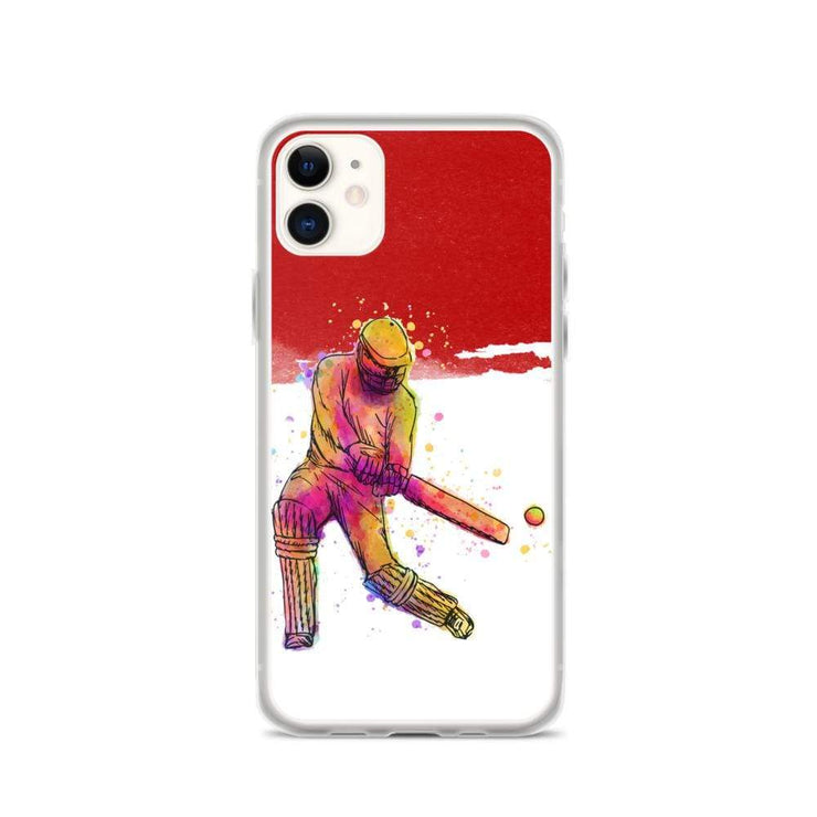 Woolly Mammoth Media iPhone 11 Red Cricket iPhone Case Cover