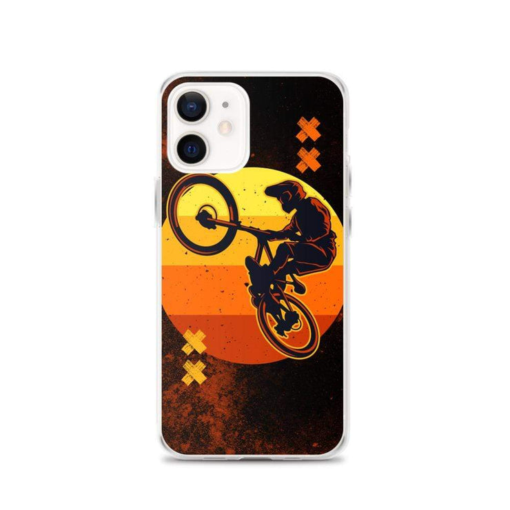 Woolly Mammoth Media iPhone 12 BMX Bike iPhone Case