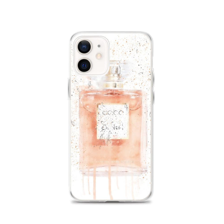 Woolly Mammoth Media iPhone 12 Coral Perfume Bottle iPhone Case