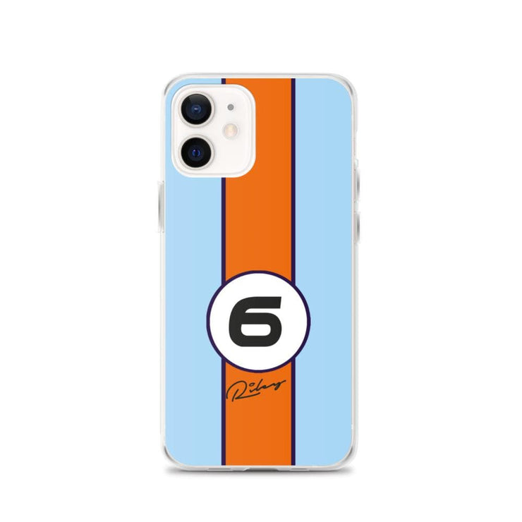 Woolly Mammoth Media iPhone 12 Gulf iPhone Case