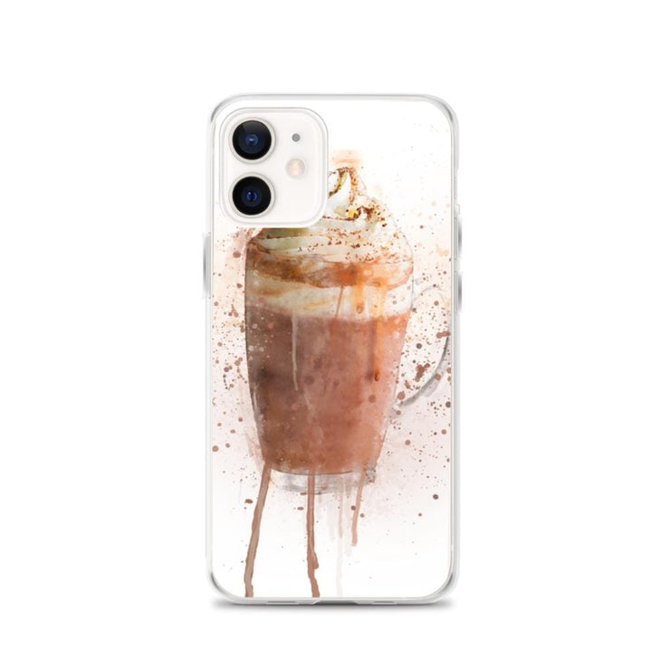 Woolly Mammoth Media iPhone 12 Hot Chocolate iPhone Case Cover