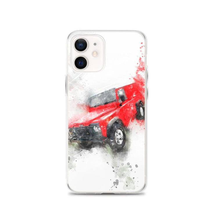 Woolly Mammoth Media iPhone 12 Land Rover Defender iPhone Case Cover