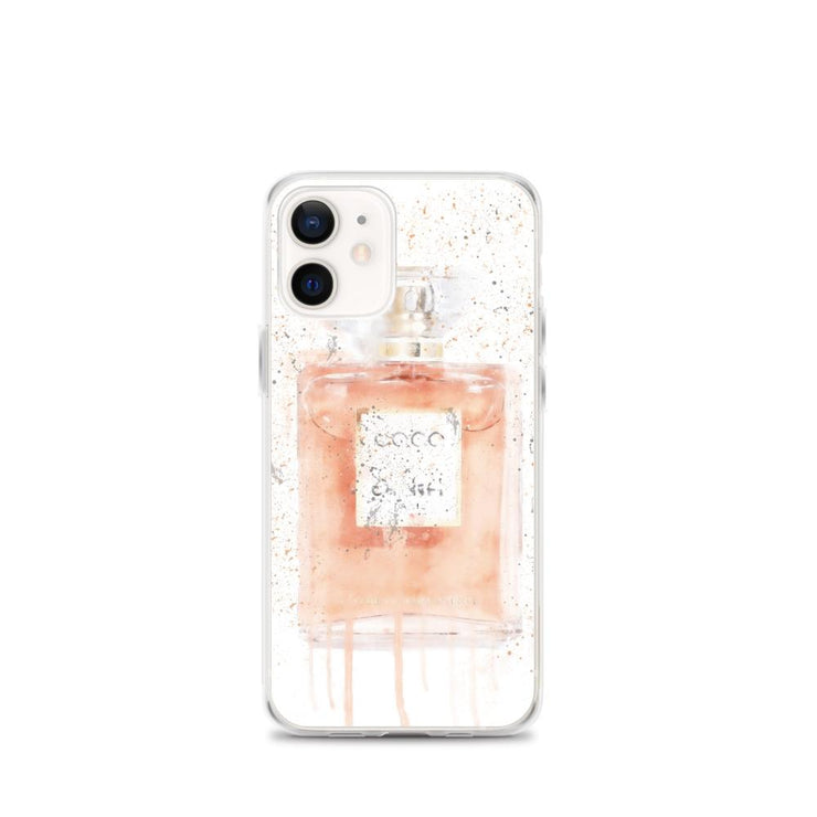 Woolly Mammoth Media iPhone 12 mini Coral Perfume Bottle iPhone Case