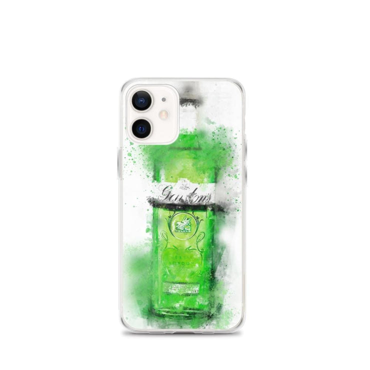 Woolly Mammoth Media iPhone 12 mini Green Gordons Gin iPhone Case