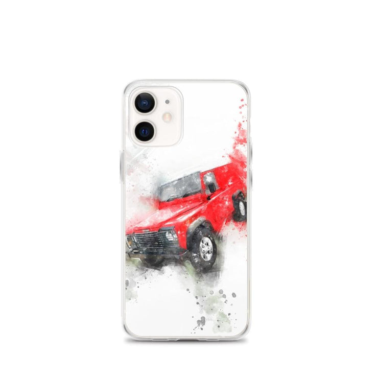 Woolly Mammoth Media iPhone 12 mini Land Rover Defender iPhone Case Cover