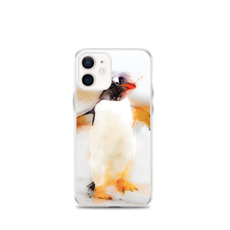 Woolly Mammoth Media iPhone 12 mini Penguin Waddles iPhone Case
