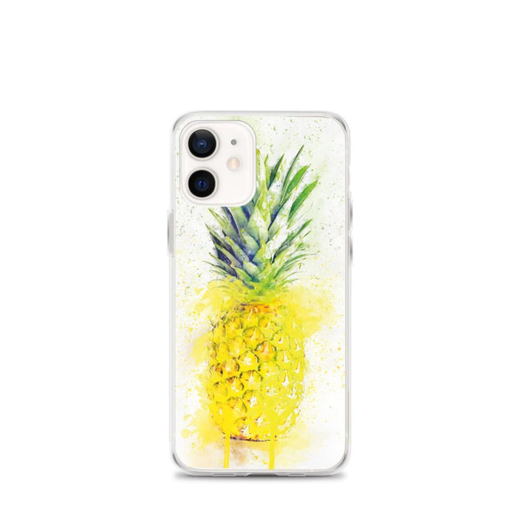 Woolly Mammoth Media iPhone 12 mini Pineapple Fruit iPhone Case