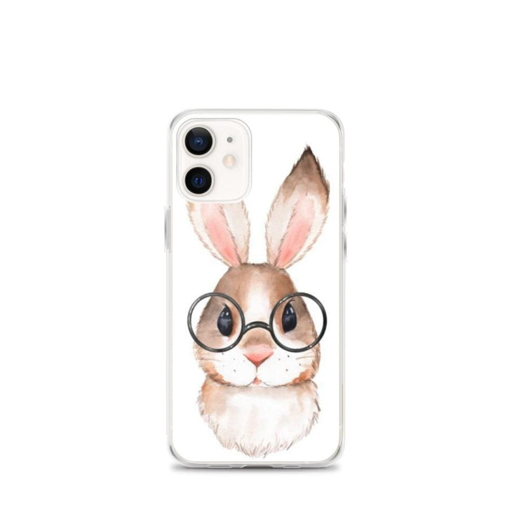 Woolly Mammoth Media iPhone 12 mini Rabbit Bunny iPhone Case Cover