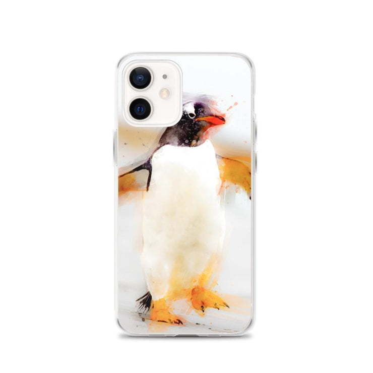 Woolly Mammoth Media iPhone 12 Penguin Waddles iPhone Case
