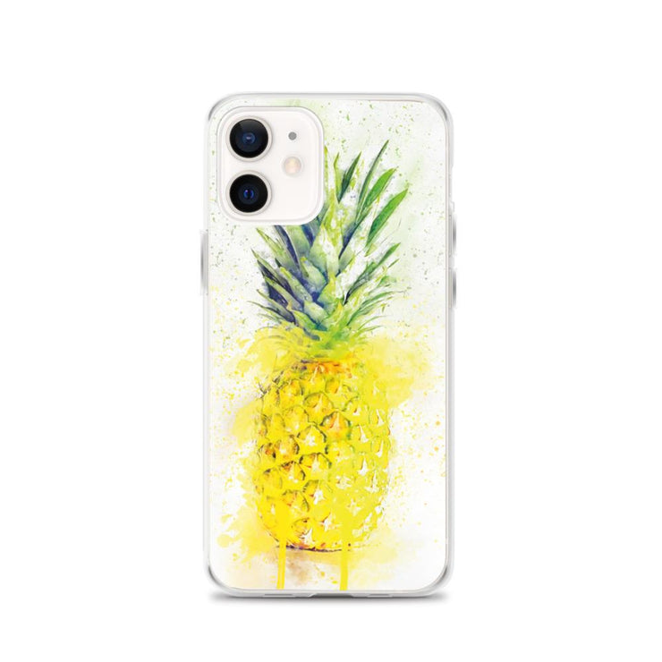 Woolly Mammoth Media iPhone 12 Pineapple Fruit iPhone Case