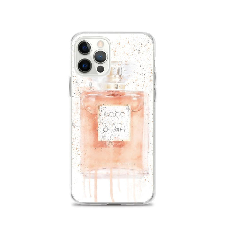 Woolly Mammoth Media iPhone 12 Pro Coral Perfume Bottle iPhone Case