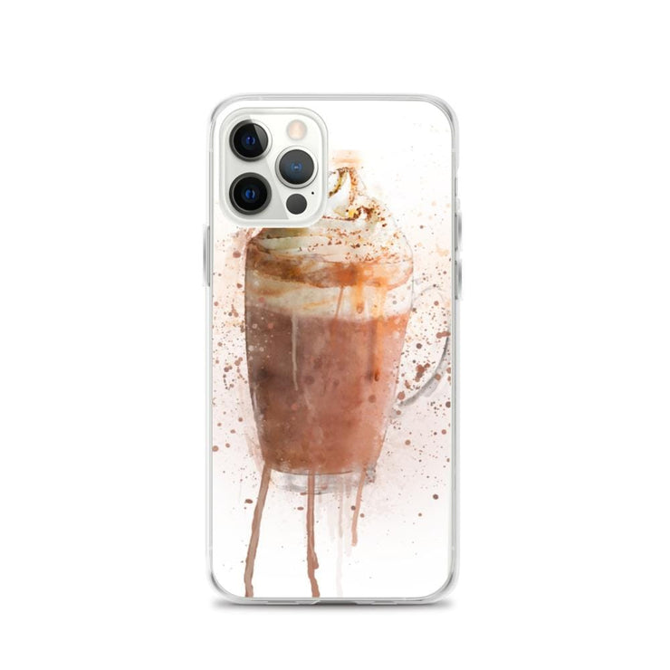 Woolly Mammoth Media iPhone 12 Pro Hot Chocolate iPhone Case Cover