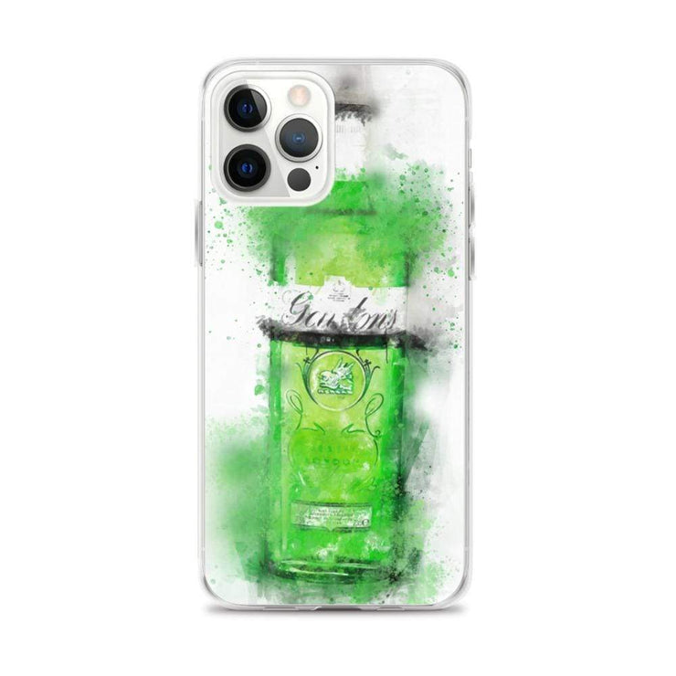 Woolly Mammoth Media iPhone 12 Pro Max Green Gordons Gin iPhone Case