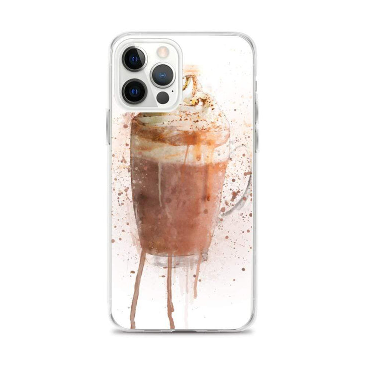 Woolly Mammoth Media iPhone 12 Pro Max Hot Chocolate iPhone Case Cover