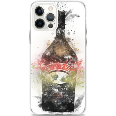 Woolly Mammoth Media iPhone 12 Pro Max Irish cream Bottle iPhone Case