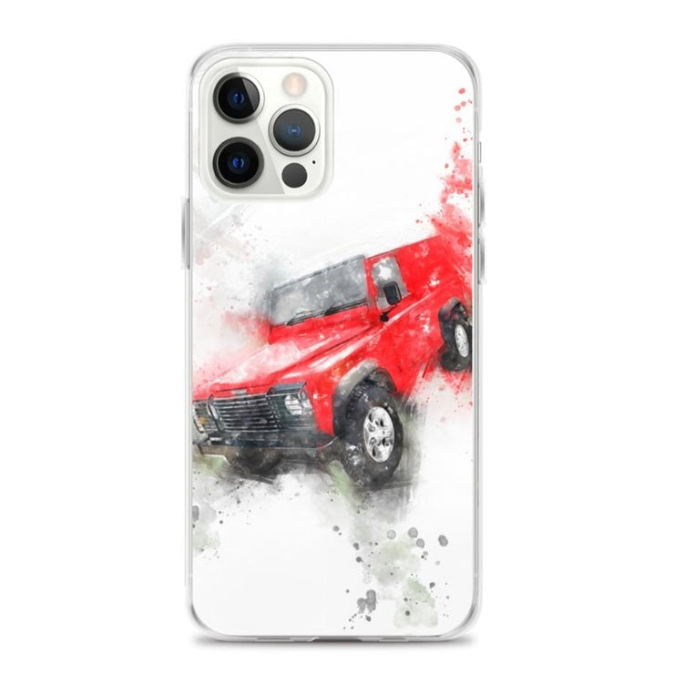 Woolly Mammoth Media iPhone 12 Pro Max Land Rover Defender iPhone Case Cover