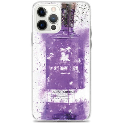 Woolly Mammoth Media iPhone 12 Pro Max Parma Violet / Rhubarb Ginger Splatter Art iPhone Case