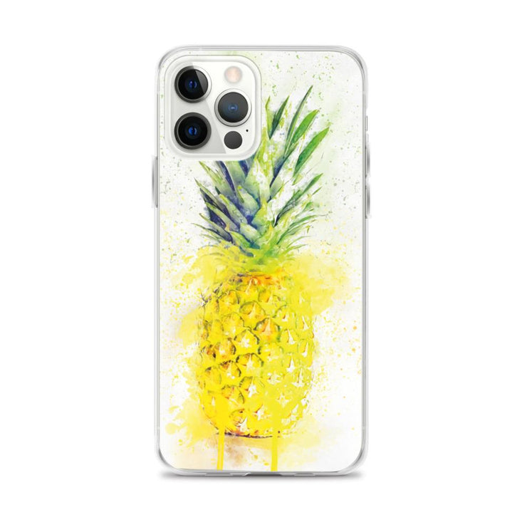 Woolly Mammoth Media iPhone 12 Pro Max Pineapple Fruit iPhone Case