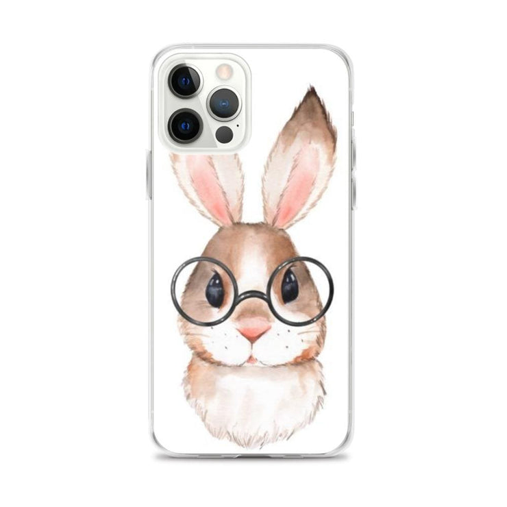 Woolly Mammoth Media iPhone 12 Pro Max Rabbit Bunny iPhone Case Cover