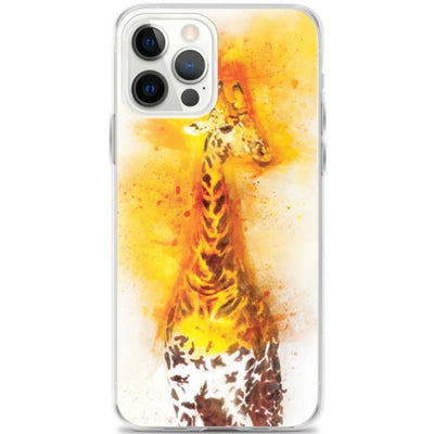 Woolly Mammoth Media iPhone 12 Pro Max Sky the Giraffe Wildlife iPhone Case Cover