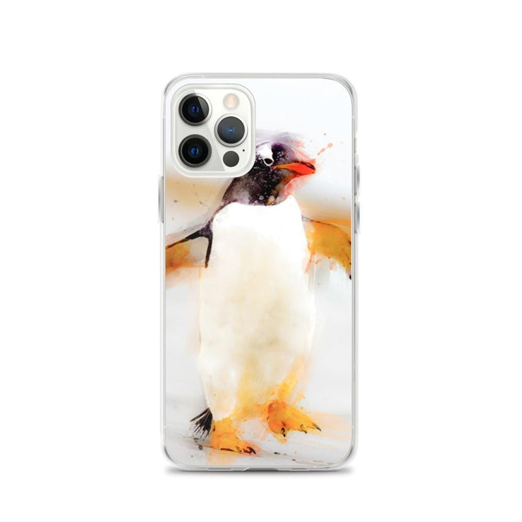 Woolly Mammoth Media iPhone 12 Pro Penguin Waddles iPhone Case