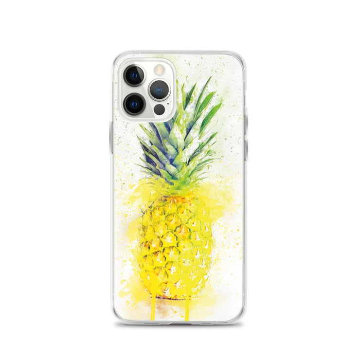 Woolly Mammoth Media iPhone 12 Pro Pineapple Fruit iPhone Case