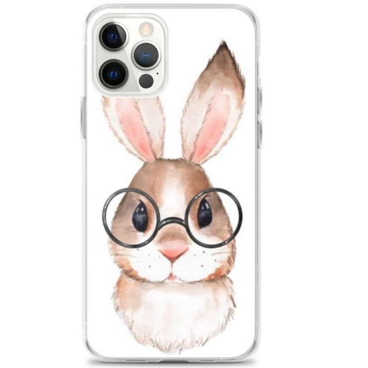 Woolly Mammoth Media iPhone 12 Pro Rabbit Bunny iPhone Case Cover