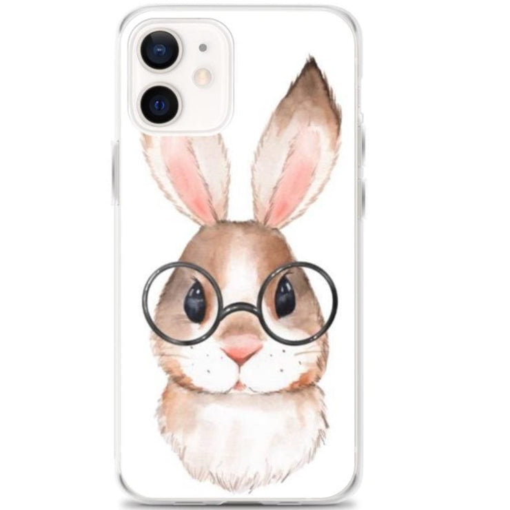 Woolly Mammoth Media iPhone 12 Rabbit Bunny iPhone Case Cover